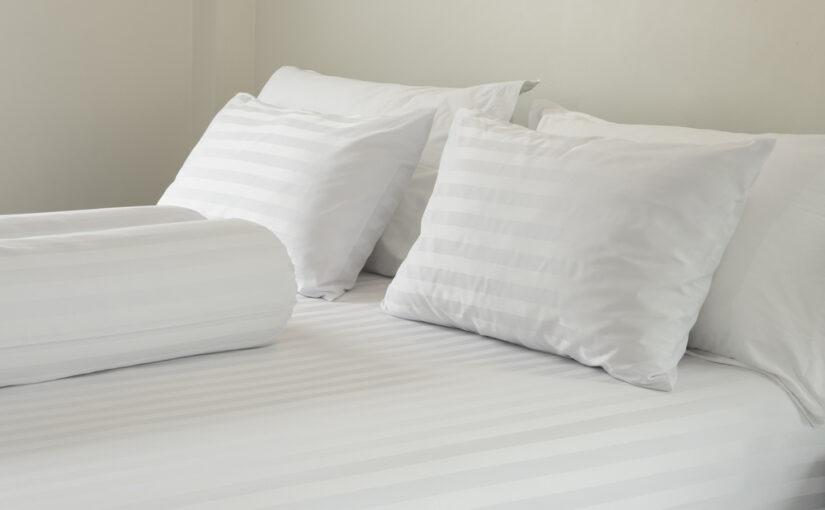 Het perfect opgemaakte bed